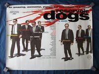 Original UK Quad Posters - Reservoir Dogs & Jackie Brown