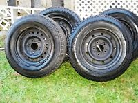 STUDDED WINTER TIRES on F150 rims