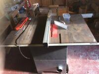 "Bench Saw - SIP 10"" HD 75mm capacity-£550.00"