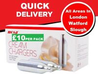 MOSA CREAM CHARGER - QUICK DELIVERY ALL OVER LONDON/WATFORD/SLOUGH