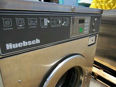 20lb Single Phase Washer Huebsch Hc20bc2 As-is Condition