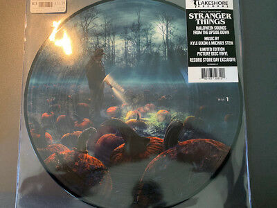 Stranger Things Halloween Sounds LP PICTURE DISC VINYL Record Store Day Album ](Halloween Sounds Record)