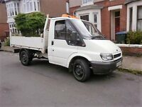 transit tipper truck 2005 2.4swb single wheel rear wheel drive low miles verry good condition