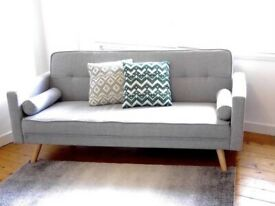 Grey Sofa Bed BRAND NEW