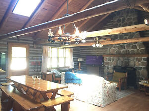 Log Home Along Rice Lake! **Book NOW for 2016**