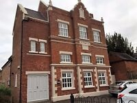 Impressive serviced office space, located centrally in Oadby, Leicester with off road parking