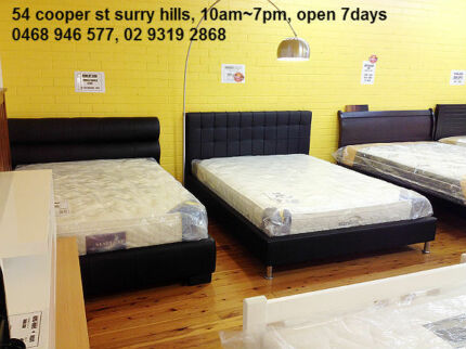 Fantastic Quality New Mattress and Bed, Base with warranty Ashfield Ashfield Area Preview