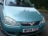 2004 Vauxhall Corsa - smart good driving Corsa Full MOT