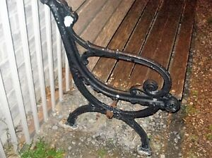 """A Real """"PARK BENCH""""  Very Heavy Peterborough Peterborough Area image 2"""