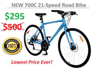 NEW 700C 21-Speed Road Bicycle