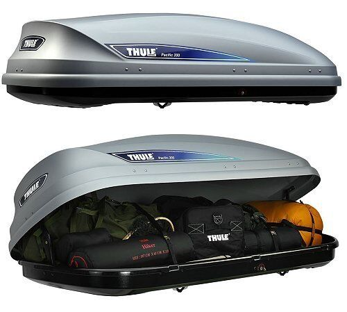 thule pacific 200 roof box 460l in gloucester road. Black Bedroom Furniture Sets. Home Design Ideas