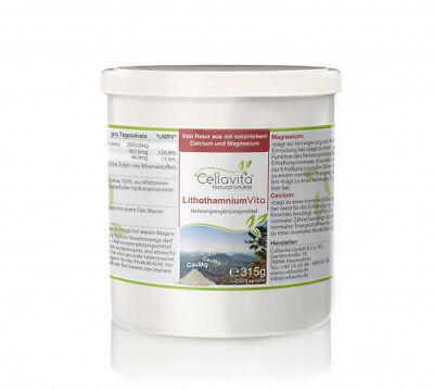 100 Kapseln Calcium (CELLAVITA Lithothamnium Vita (100 % Rotalge) Calcium Magnesium 450 Kapseln)