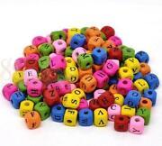 Wooden Alphabet Beads