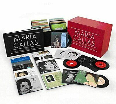 MARIA CALLAS Remastered The Complete Studio Recordings (1949-1969) 69-CD NEW