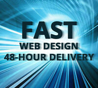 Get a 5-Page Website in 48 hours for $399! All Included!