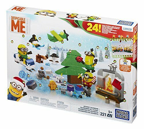 Mattel Mega Bloks CPC57 - Minions Movie Advent Calendar
