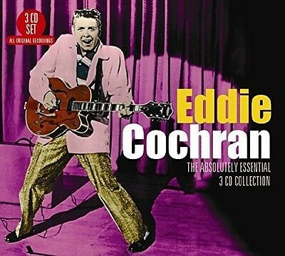 Eddie Cochran - Absolutely Essential 3CD Collection [New CD] UK - Import
