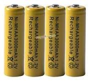 AA Rechargeable Battery 3000