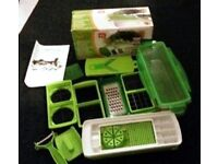 Nicer Dicer Complete Set for slicing and dicing fruit & veg