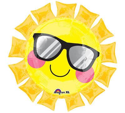 Fun in the Sun Foil Balloon, - Sun Decorations