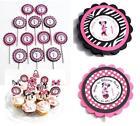 Zebra Minnie Mouse Party Supplies