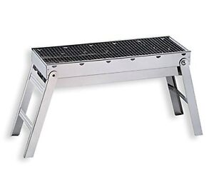 Chinese BBQ Grill Stainless Steel Portable Folding Charcoal