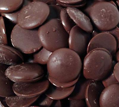 Merckens Coating Melting Wafers Dark Chocolate, Bulk
