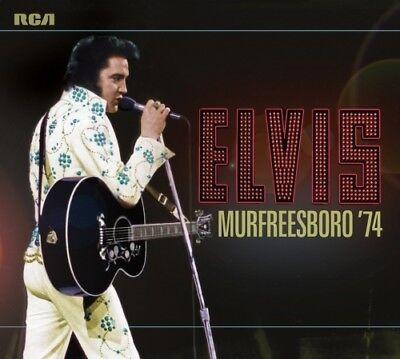 Elvis Presley - ELVIS: MURFREESBORO '74 - 2x FTD CD Set - IN STOCK NOW