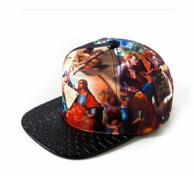 Hater snapback Jesus Genesis Muriel with Snakeskin Brim & God Hat Cap NEW