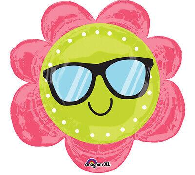 Fun In The Sun Flower Foil Balloon - Sunflower Balloon