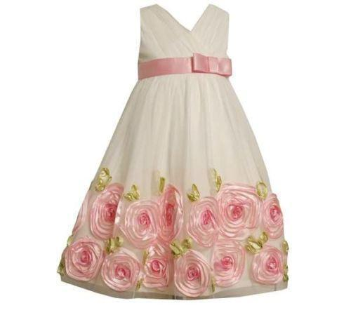 bonnie jean easter dress ebay