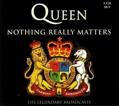 QUEEN NOTHING REALLY MATTERS THE LEGENDARY BROADCASTS 3 CD SET