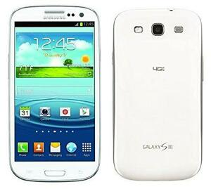 SAMSUNG GALAXY S3 SGH-i747 ANDROID UNLOCKED WORLDWIDE DEBLOQUÉ MONDIALEMENT 4G WIFI FIDO ROGERS CHATR TELUS BELL KOODO