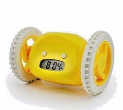 Yellow Runaway Alarm Clock