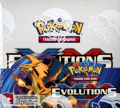 Pokemon tcg xy evolutions booster box english ebay - Evolution pokemon xy ...