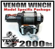 Honda Rancher ATV Winch