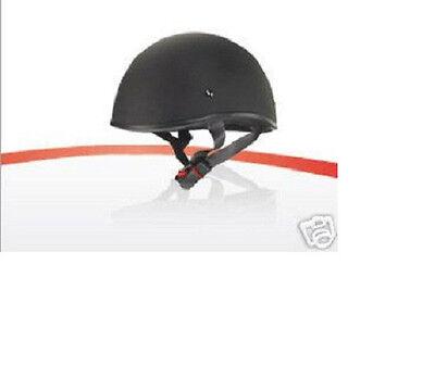 Zox Helmet old school Beanie Flat Black DOT Size small Thru X-Large New