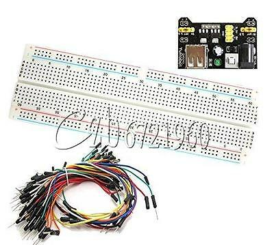 Mb-102 Solderless Breadboard Test Circuit Protoboard 830 Tie Points 2 Buses