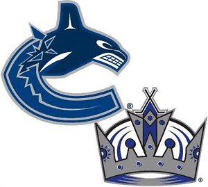 XMAS GIFTS! (6) TICKETS IN A ROW! CANUCKS vs. LOS ANGELES KINGS