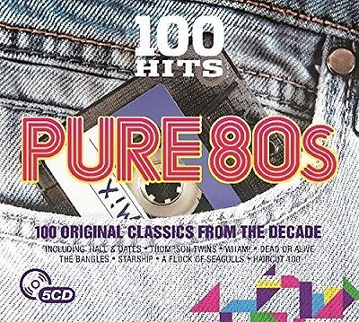 Various Artists - 100 Hits: Pure 80s / Various [New CD] UK - Import