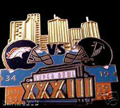 Super Bowl 33 Final Score Pin Denver Broncos Vs Atlanta Falcons