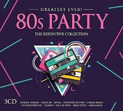 Various Artists - Greatest Ever 80s Party / Various [New CD] UK - Import