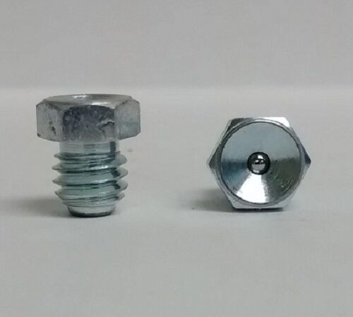 1/4-28 Flush Straight Grease Zerk Nipple Fitting 5 pcs