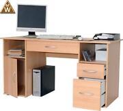 Schreibtisch Buche