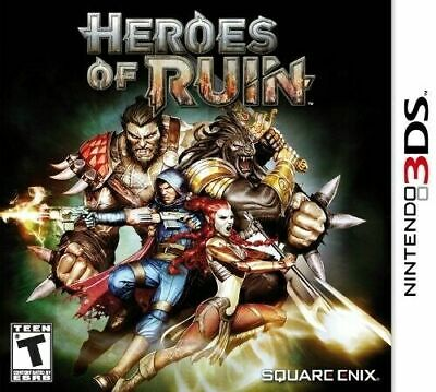 Heroes of Ruin Nintendo 3DS Video Game Brand New Factory Sealed Square Enix