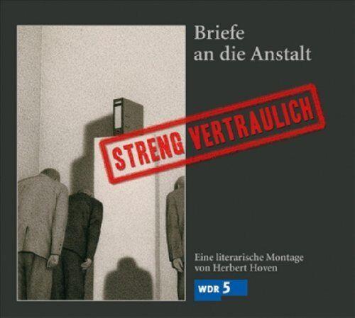 Herbert Hoven - Streng vertraulich - Briefe an die Anstalt - CD - Neu / OVP