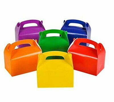 24pk Rainbow Treat Boxes Birthday Party Favors Assorted Paper Box Supplies BULK](Favor Boxes Bulk)