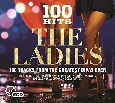 Various - 100 Hits: The Ladies (2015)  5CD  NEW/SEALED  SPEEDYPOST
