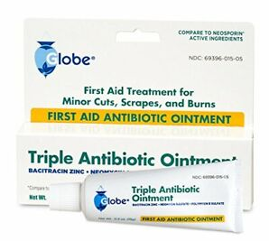 First Aid Triple Antibiotic Ointment 1oz Tube -3 Pack