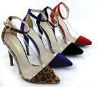 Womens Clear Heels